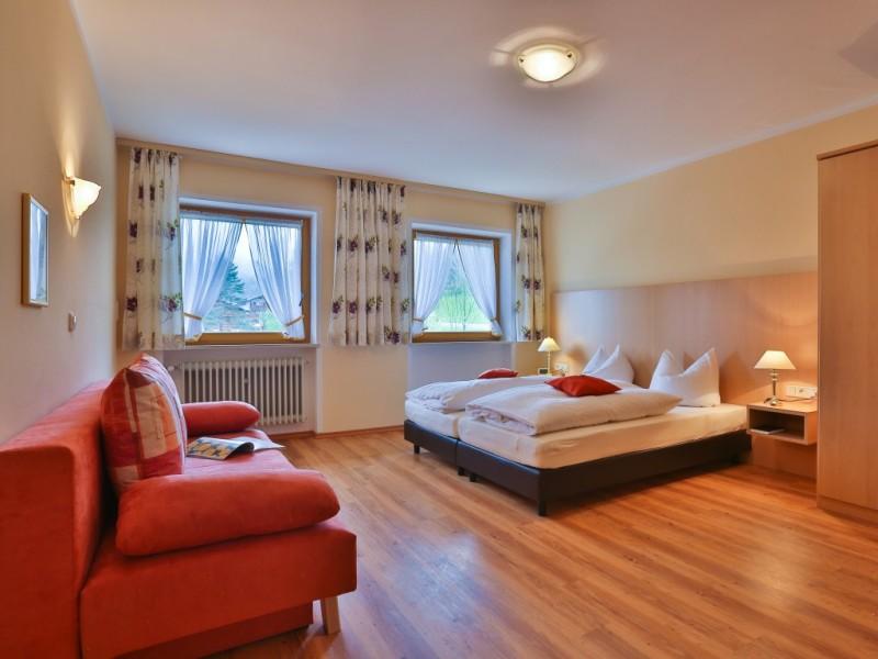 Appartement Reiteralpe Schlafzimmer
