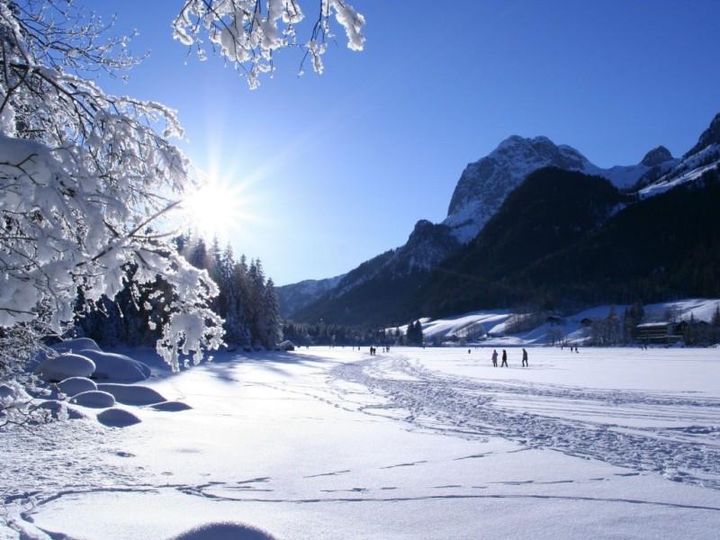 Wintertraum am Hintersee